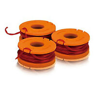 Wa0206 Worx 3-pack Replacement Spools For Battery Powered Worx Gt's on Sale