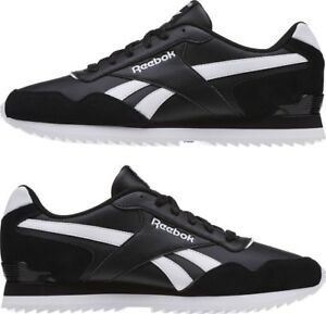 c507c909538 Reebok Men s Classic Royal Glide Ripple Clip Trainers Running Shoes ...