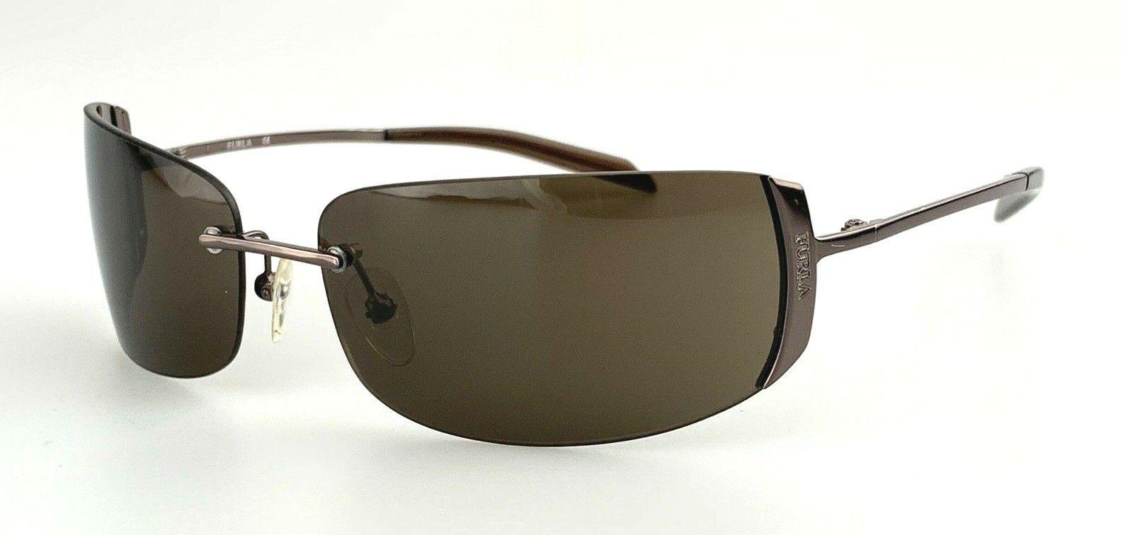 FURLA Sunglasses mod. Urban SU 4031 Col. K01 Brown Rimless 90's Vintage Italy