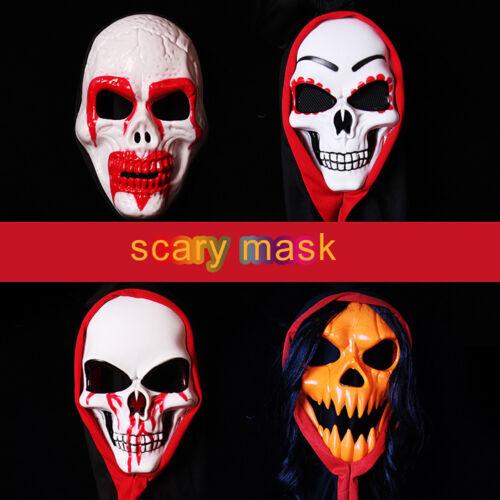 Kd _ monstruo horrible Sangriento Demonio Máscara Juegos con disfraces Halloween Disfraces Fiesta headge