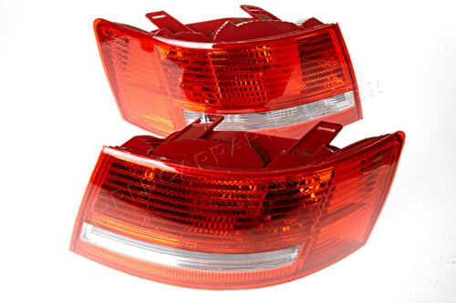 Tail Lights Rear Lamps PAIR Fits AUDI A6 C6 2004-2008