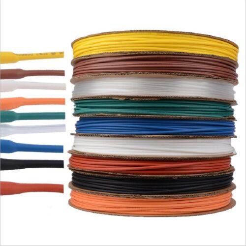 210mm 2:1 Various Colors Tubing Tube Sleeving Heat Shrink Car Electrical 0.6mm