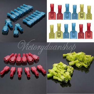Female Male Fully Insulated Wire Crimp Terminalas Nylon Connectors Wiring Spade