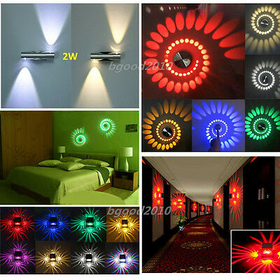 Modern 3W Wall Light Up&Down LED Sconce Light Hall KTV Living Room Lamp Fixture