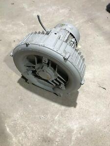Siemens-Seitenkanalverdichter-ELMO-G-380v-1-5KW-Absaugung-Geblaese-CNC-Vakuum