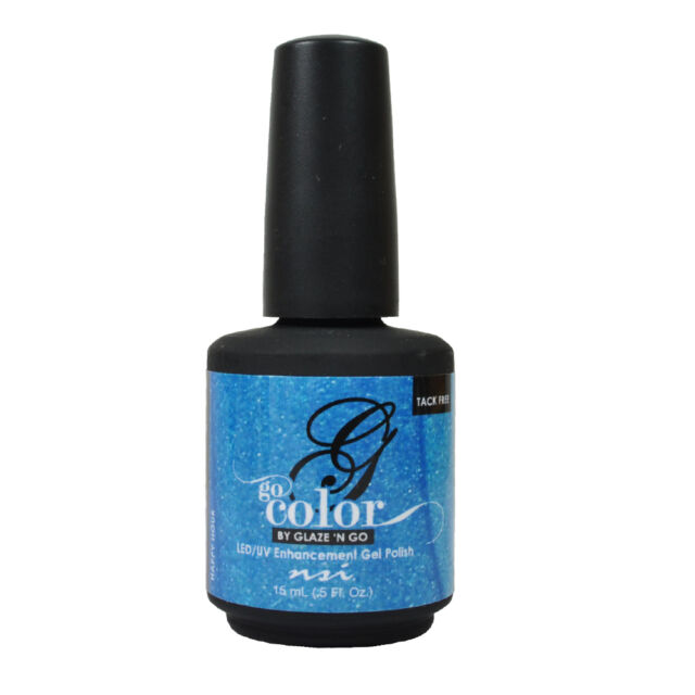 1708 Nsi Go Color Happy Hour UV Gel Polish No Base Top Needed! No tacky!