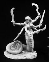 Snake Demon Reaper Miniatures Dark Heaven Legends Monster Medusa Swords Arms