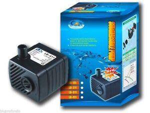 Pumps (water) Pompa Sommersa Riciclo Acqua Per Acquario Acquari 2watt 200lt/h Lb111 Fish & Aquariums