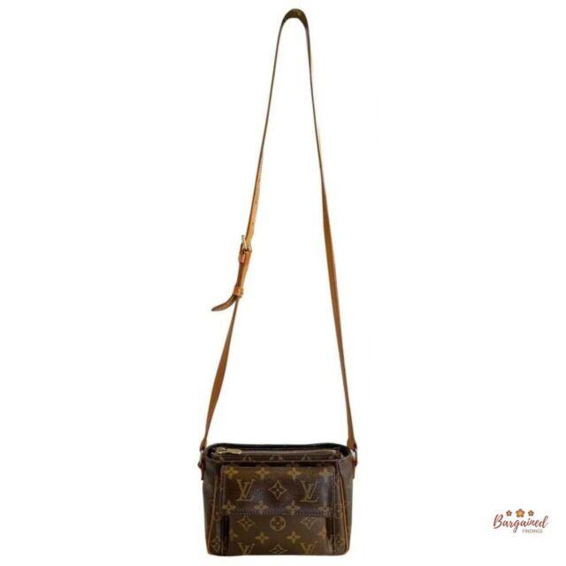 Authentic Louis Vuitton Monogram Viva Cite PM Crossbody/Shoulder Bag M51165