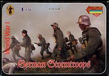 Strelets Models 1/72 WORLD WAR I GERMAN STORMTROOPS Figure Set