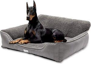 Sofa-Style-Dog-Bed-Washable-Breathable-Small-Medium-Large-Warming-Winter