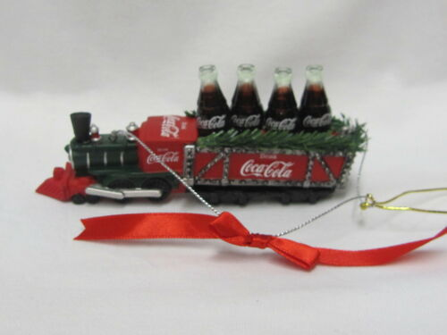 2013 Kurt Adler Coca-Cola Ornament Train NEW