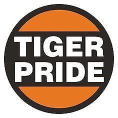 a Princeton Tigers vinyl sticker for skateboard luggage laptop tumblers car