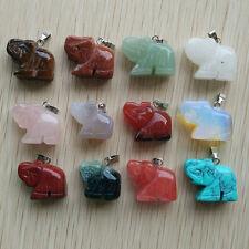 12pcs wholesale pretty mixed colors Millefiori Glass carved heart Pendant BA1998