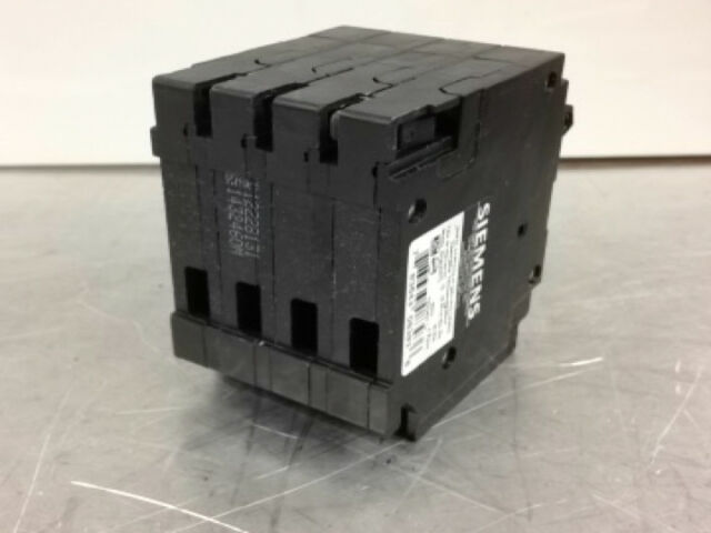 SIEMENS Q23020CT2 30//20A 240V 4P 10K NEW QUAD