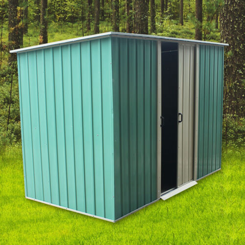 Metal Strong 8x4 Garden Shed Heavy Duty Steel Tool Sheds Brand New Good Quality