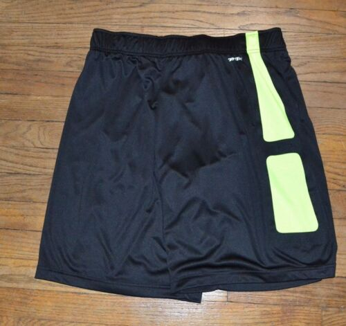Tek Gear Performance Shorts Men/'s Basketball Short DryTek Wicking Black Yellow