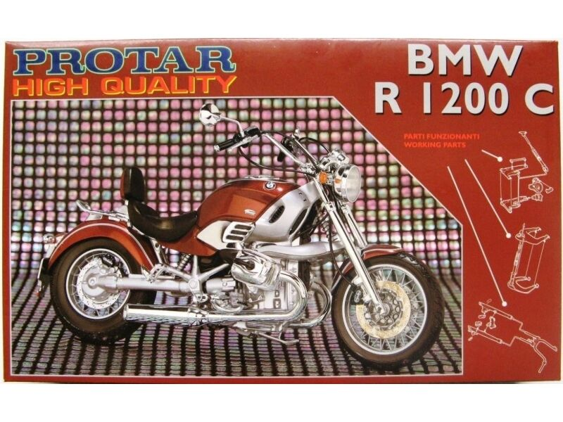 ROTAR HIGH QUALITY 1:9 KIT BMW R 1200 C PARTI FUNZIONANTI  ART 11299