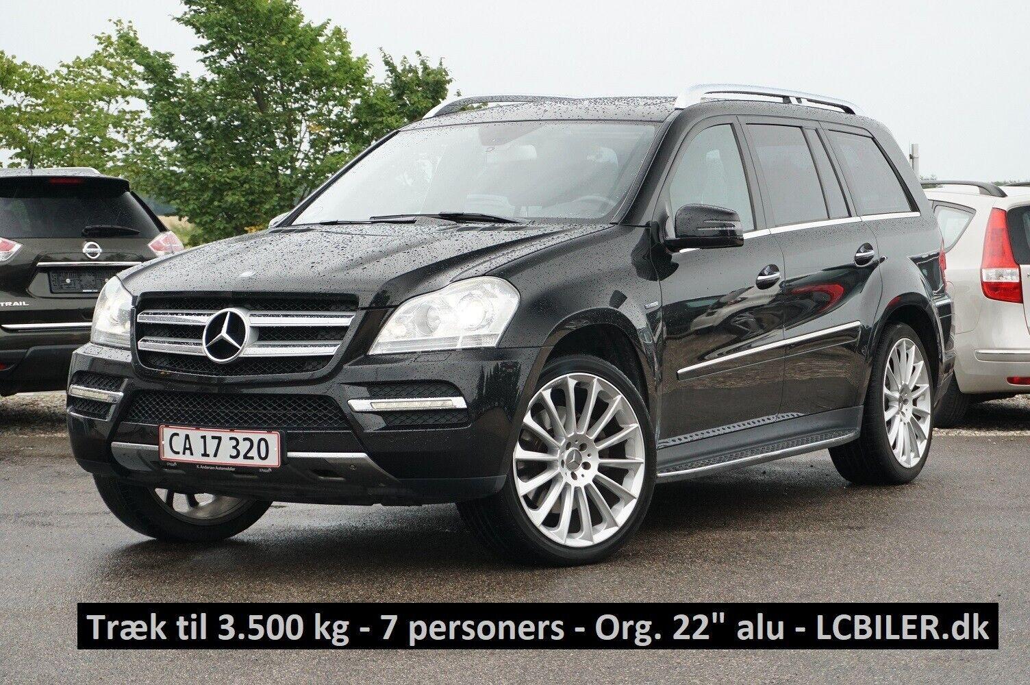 Mercedes GL350 3,0 CDi aut. 4-M BE 5d - 389.990 kr.