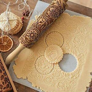P/âte//Sucre E Plastique Motif Rouleau /À P/âtisserie G/âteau Rouleau De Gaufrage Pour DIY Cookies//P/âtisserie G/âteau//Pizza Outil De Cuisson