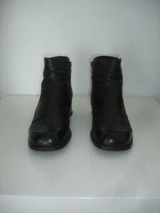Details zu Gabor Stiefeletten Lady echtes Leder schwarz 43 9 OVP