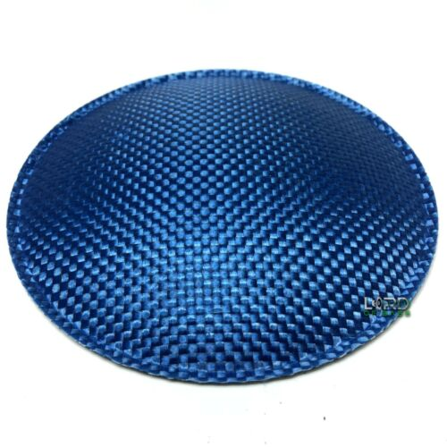 "Blue Carbon Fiber Dust Cap 130mm 5.1/"""