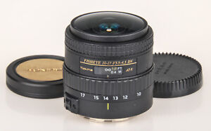 Tokina 10-17mm f/3.5-4.5 AT-X DX FISHEYE lens for Canon +caps | no lens hood