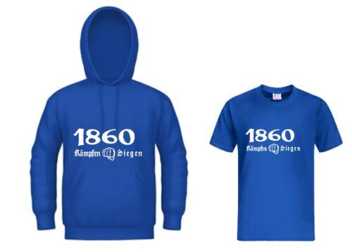 Kapuzensweat 1860 KÄMPFEN SIEGEN Ultra Hoodie Kapu T-Shirt Trikot