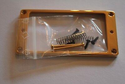 Schaller PU Pickup Rahmen Tonabnehmer  6/4  mm hoch aus Messing gold Gitarrenbau