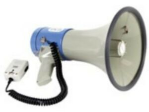 Megaphone-25-watts-avec-sifflet-et-sirene-neuf