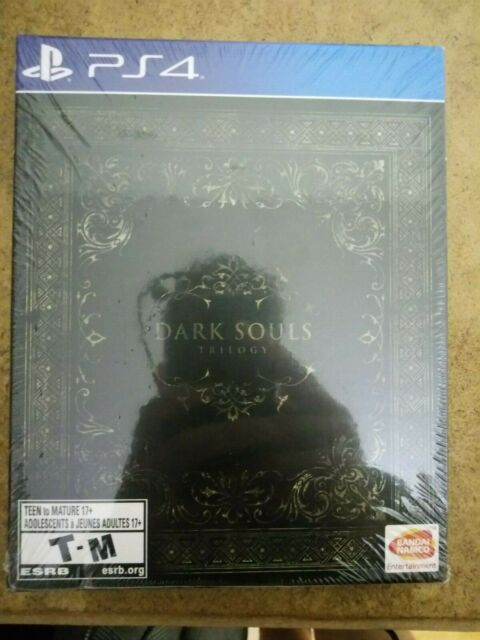 Dark Souls Trilogy Steelbook PS4 new and sealed