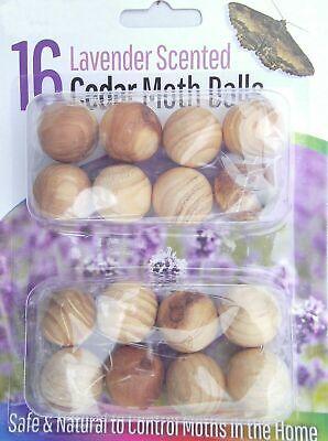 20Pcs Cedar Wood Moth Balls Repellent Mildew Eco Friendly Poison Clothes Drawer