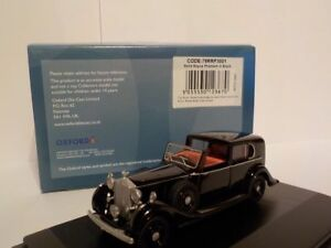 Rolls-Royce-Phantom-III-Black-Model-Cars-Oxford-Diecast
