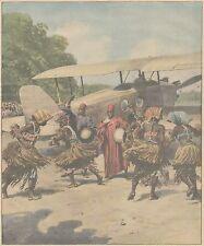 K0139 Ballerine della Cocincina eseguono pittoresca danza  - Stampa - 1931 print