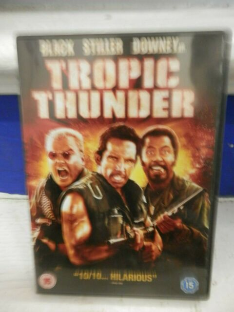 Tropic Thunder (Ben Stiller / Jack Black / Robert Downey JR) DVD