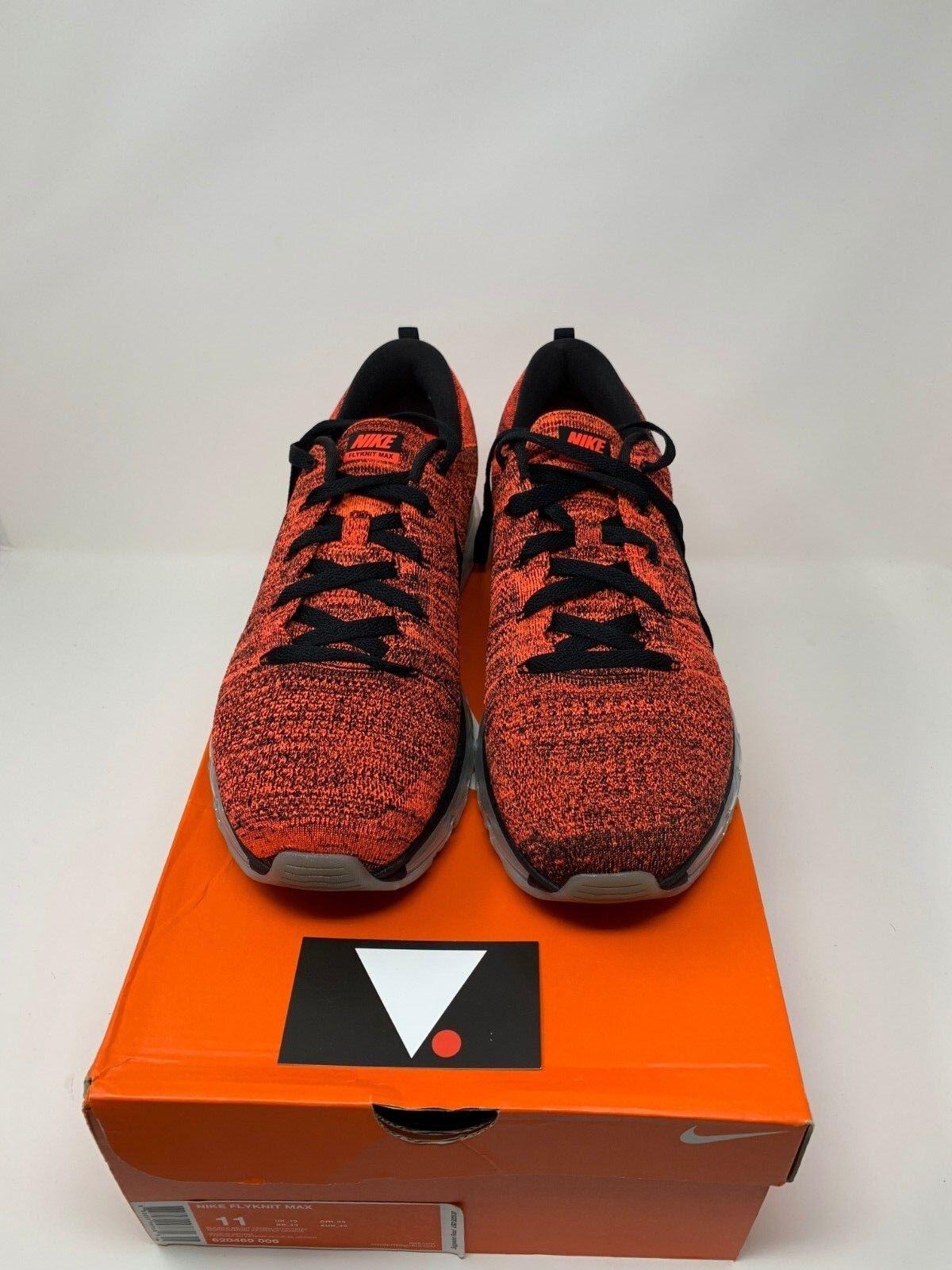 Nike flyknit max helle rote rote rote 620469 006 reagieren und pegasus 074e30