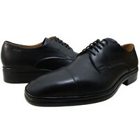 Bally Mens Nevil Derby Lace Up Cap Toe Business Casual Oxfords Dress Shoes