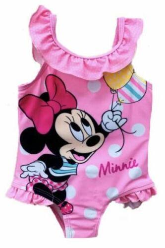 Disney Minnie Mouse Baby Mädchen Badeanzug rosa Gr 68 bis 92