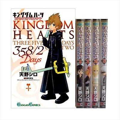 Manga Kingdom Hearts VOL.1-4 Comics Complete Set Japan Comic F//S