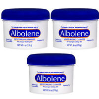 3 Pack Albolene Cleansing Concentrate Moisturizing Cleanser Cream Unscented 6oz on Sale