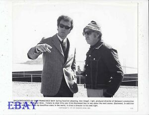 Resultado de imagem para clint eastwood and don siegel location pics dirty harry