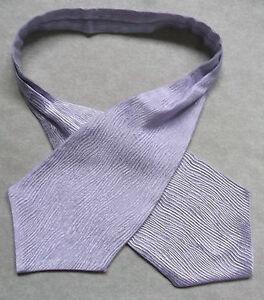 Capable Garçons Cravate Mariage Ascot Cravate Formelle Parti Taille Unique Brillant Lilas-afficher Le Titre D'origine Jouir D'Une RéPutation éLevéE Chez Soi Et à L'éTranger