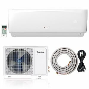 klimaire 9000 btu 16 4 seer ductless ac mini split. Black Bedroom Furniture Sets. Home Design Ideas