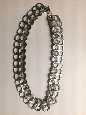 2019 Neuer Stil Modeschmuck, Halskette, Verschlussringe, Silberfarben