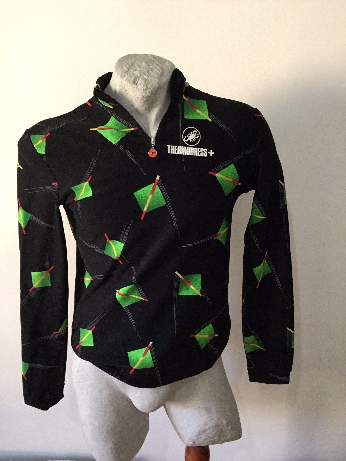 Cycling  Jersey Castelli  Cycling Jersey Trikot Shirt THERMODRESS Vintage  online sales