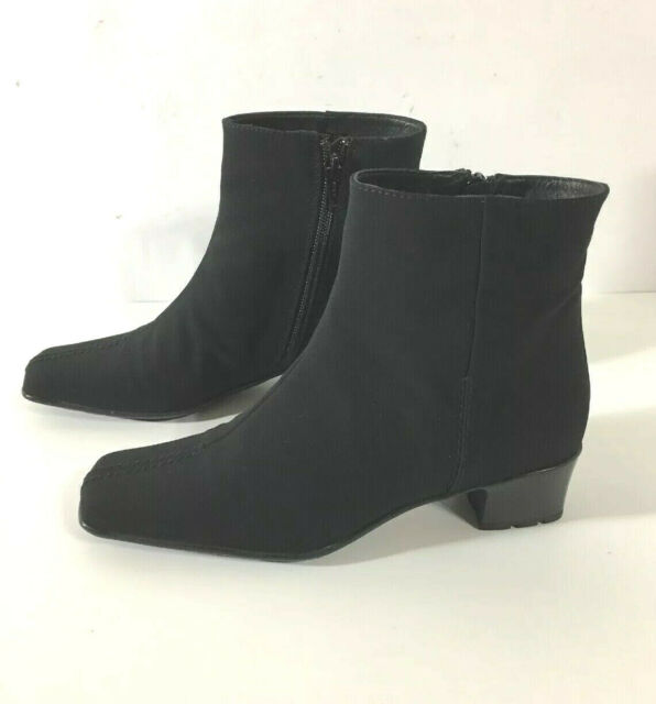 Sesto Meucci Womens Black Ankle Boots