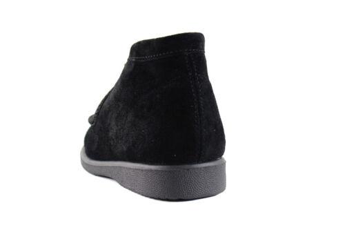 HUSH PUPPIES Big Kid/'s Bridgeport Suede Boots NEW AUTHENTIC Black Q30271