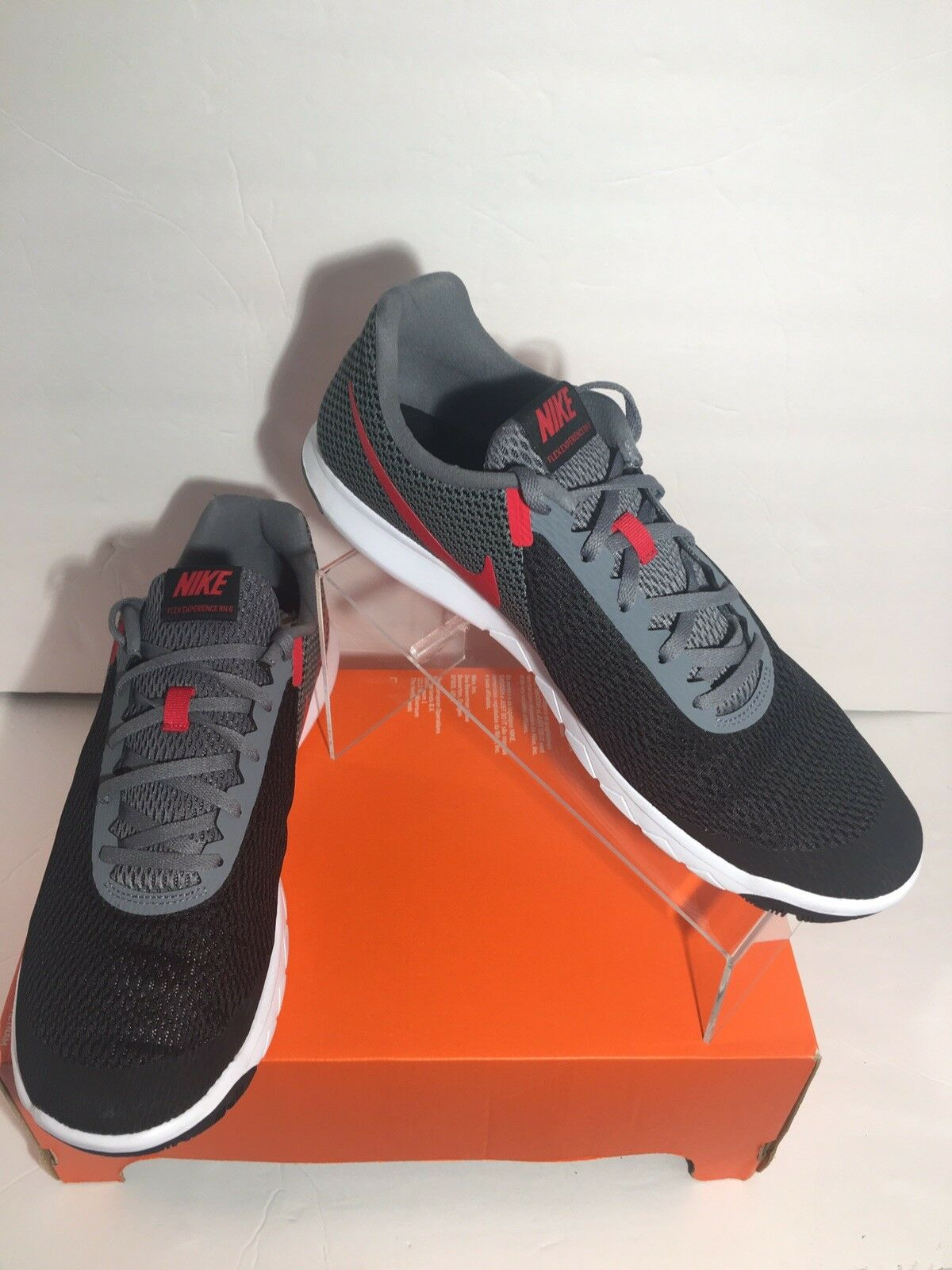 Nike Flex Experience Experience Experience Rn 6 Men's Training Running shoes 881802-011 Size US 12 6a3aee