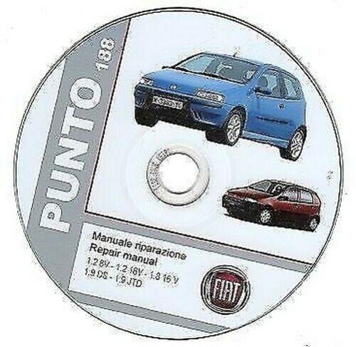 Fiat Punto 2 Serie Werkstatthandbuch Repair Manuell 1999-2003 ...