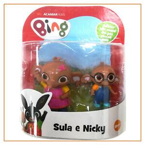 bing coppia 6 cm personaggio giochi preziosi Sula & Nicky gioco per bambini